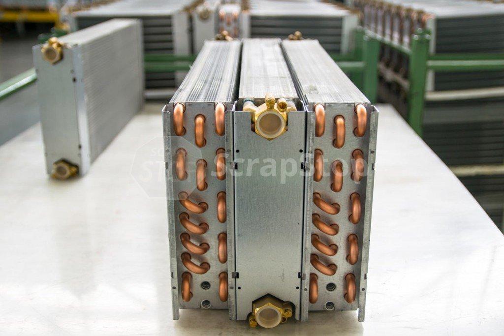 Aluminum-Copper Coils   Scrap Stop